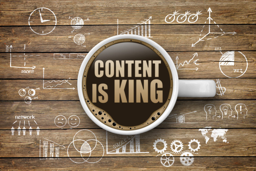 Content in brand strategy