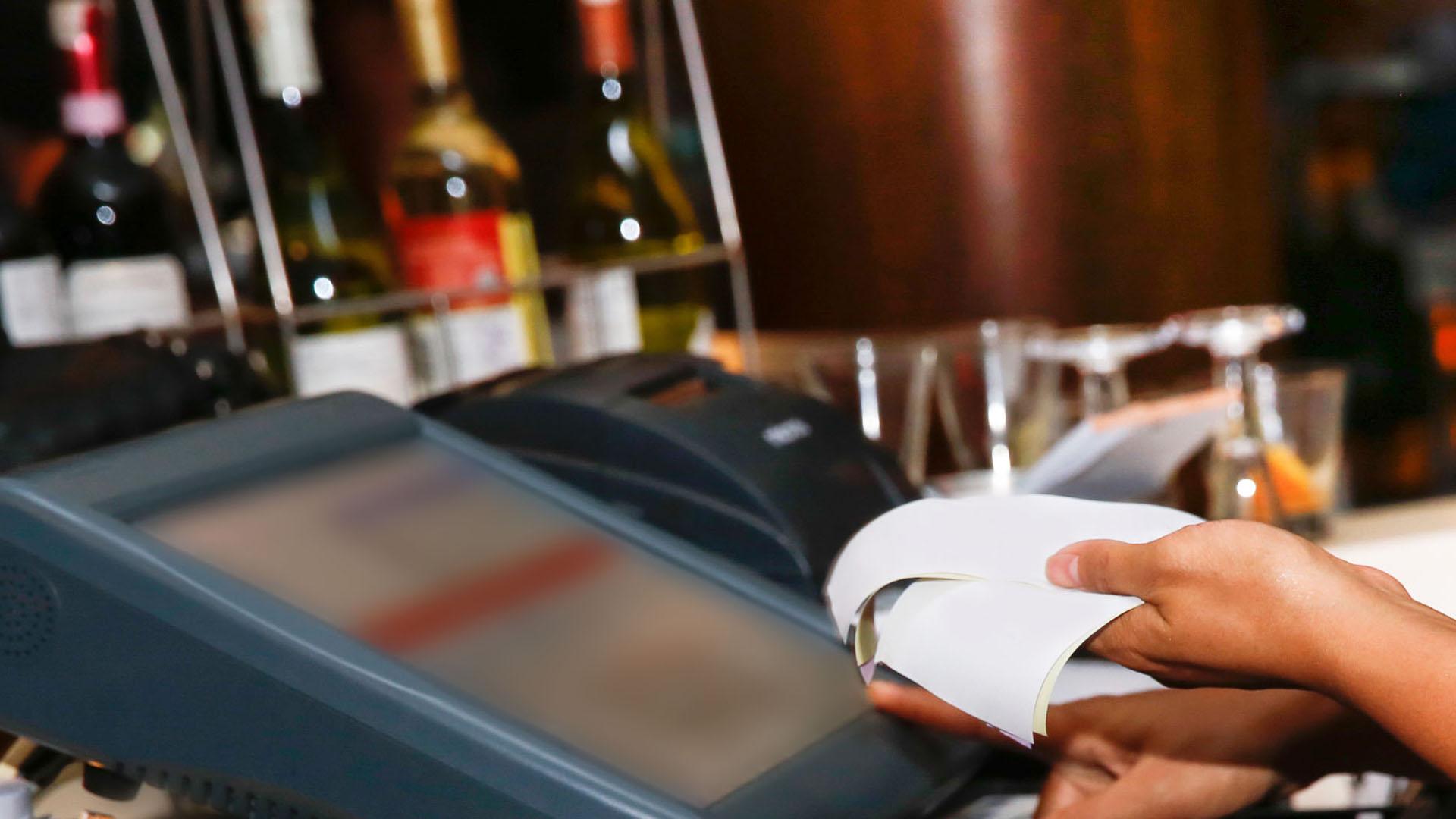 Bill calculation in a restaurant