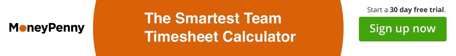 Banner Team Timesheet Calculator