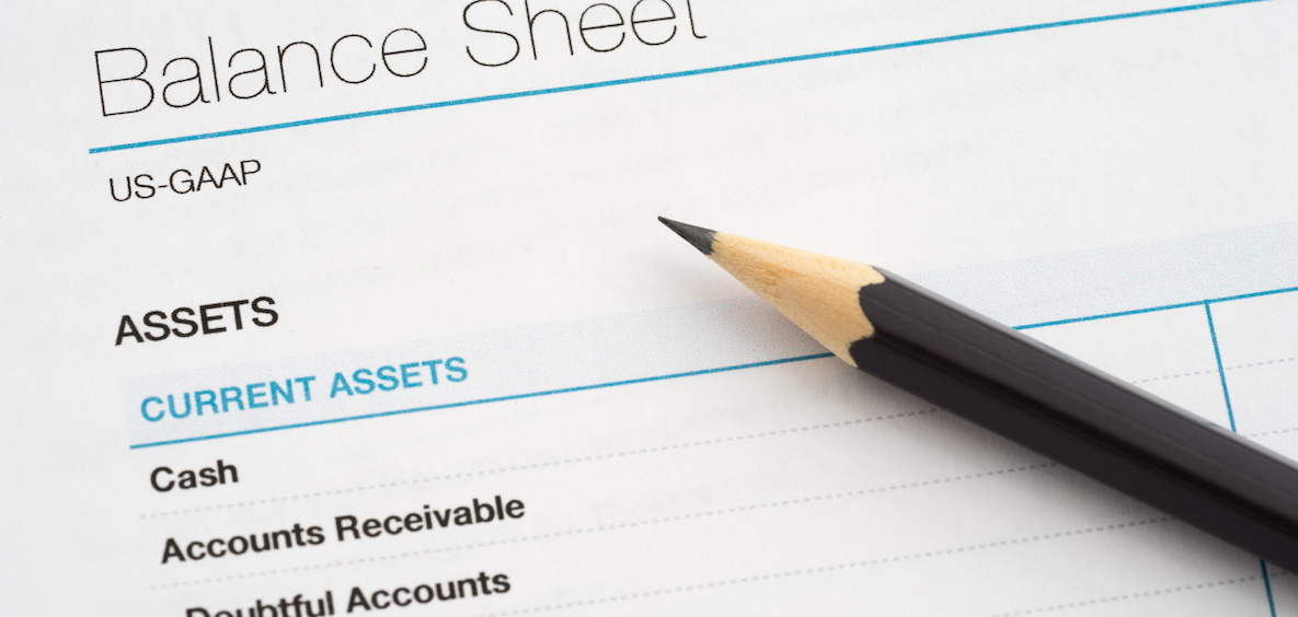 Assets to calculate debt ratio
