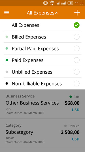 Tax-related business expenses categories