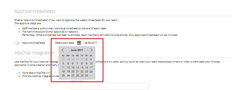 timesheet approval moneypenny knowledge base