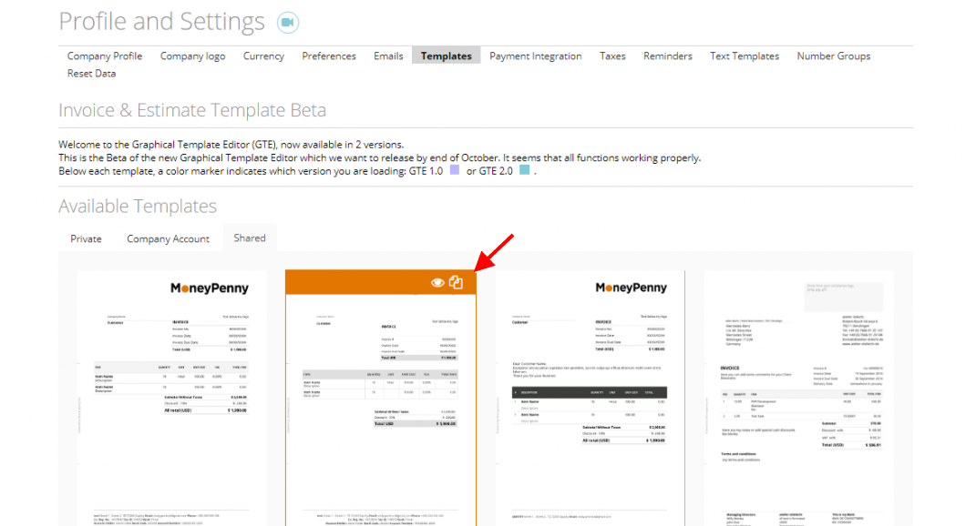 Images On Templates Stamp And Signature MoneyPenny Knowledge Base - Invoice stamp